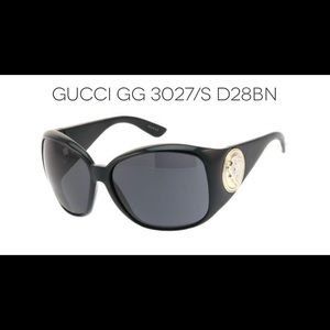 Vintage Authentic Oversized Gucci Glasses